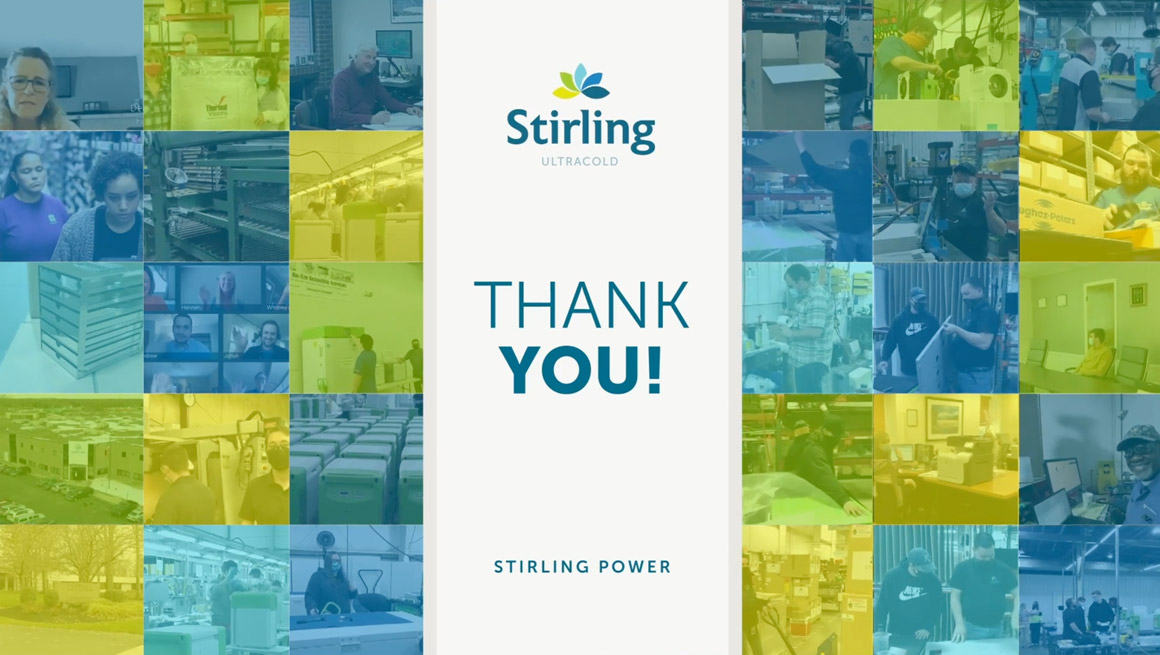 Stirling Thank you